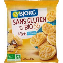 Minis fromage sans gluten BIO