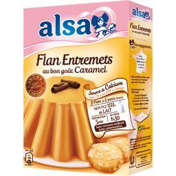 Flan Entremets au bon goût caramel