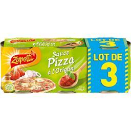 Zapetti Sauce pizza à l'origan le boites de 190 g