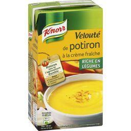 Knorr Knorr Soupe velouté de potiron à la crème fraîche la brique de 1 l