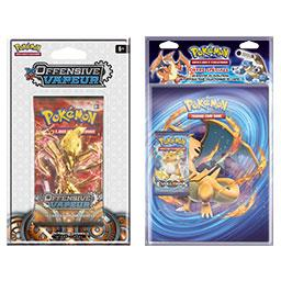 Booster XY 11 Offensive Vapeur + Evolutions - Cahier range cartes et Booster