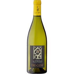 Viré-Clessé Domaine Le Virolys vin Blanc sec 2017