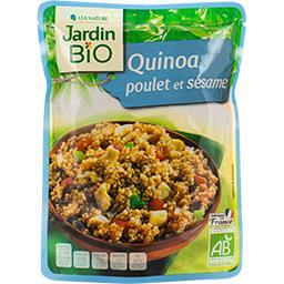 Jardin Bio Jardin Bio'logique Quinoa poulet et sésame BIO le sachet de 250 g