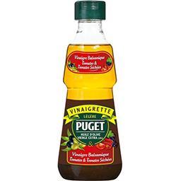 Puget Puget Légère - Vinaigrette vinaigre Balsamique tomates séchées la bouteille de 33 cl