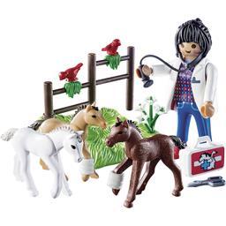 Œuf vétérinaire avec poulain