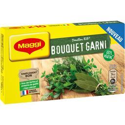Maggi Maggi Bouillon Kub bouquet garni la boite de 10 - 100 g