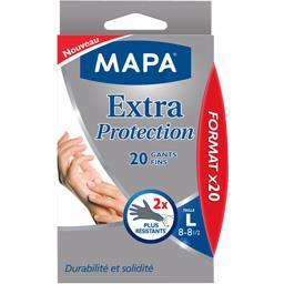 Mapa - 3 paires de Gants de Ménage Extra Protection - Taille 8/L