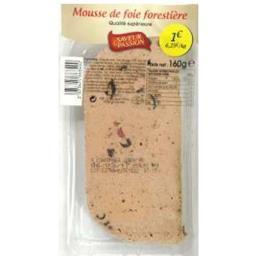 Mousse de foie forestière