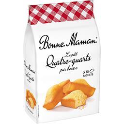 Bonne Maman Bonne Maman Le Petit Quatre-quarts pur beurre le paquet de 10 sachets - 300 g