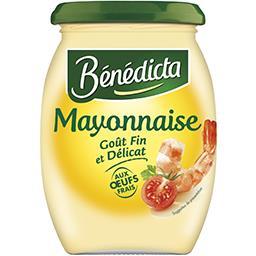Mayonnaise goût fin et délicat