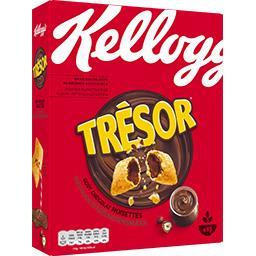 Kellogg's Kellogg's Trésor - Céréales goût chocolat noisettes la boite de 410 g