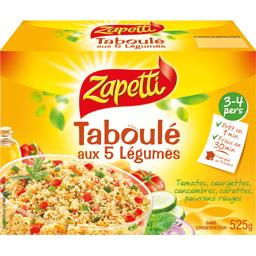 Taboulé 5 légumes