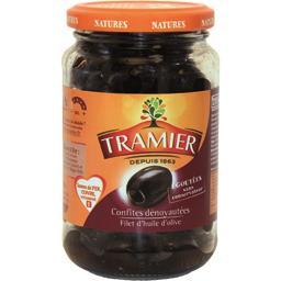 Olives noires confites dénoyautées sans saumure