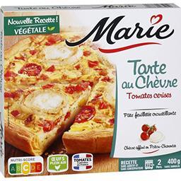 Marie Marie Tarte au chèvre tomates cerises et courgettes grillées la boite de 400 g
