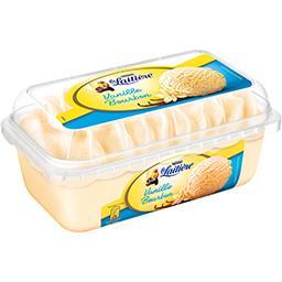 Nestlé La Laitière Crème glacée vanille bourbon le bac de 510 g