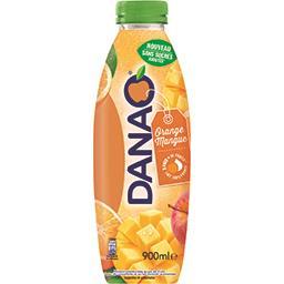 Danao Danao Boisson orange mangue sans sucres ajoutés la bouteille de 900 ml