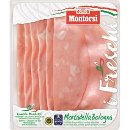 Montorsi Montorsi Mortadella Bologna I.G.P. la barquette de 120 g