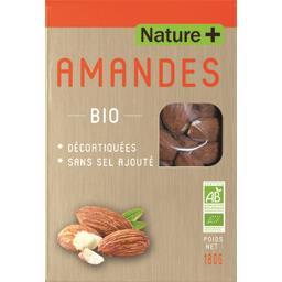 Amandes décortiquées bio Nature +