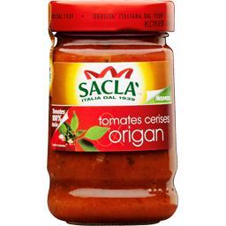 Sauce tomates cerises origan
