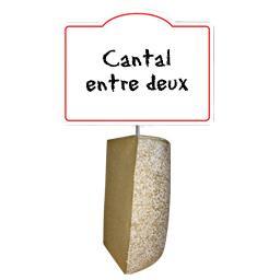 Cantal entre deux lait cru  27% de MG