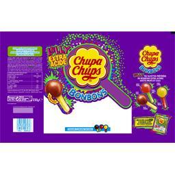 Bonbons Lolly extra acide, double goût