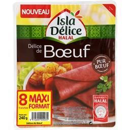 Délice de bœuf halal Isla Délice