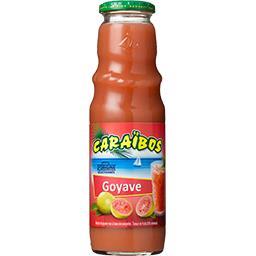 Caraïbos Caraibos Nectar de goyave rose la bouteille de 75 cl