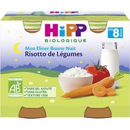 Mon Dîner Bonne Nuit - Risotto de légumes BIO, dès 8...