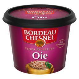 Bordeau Chesnel Bordeau Chesnel Fines rillettes oie le pot de 220 g