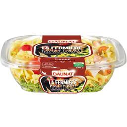 Salade La Fermière poulet rôti torsades