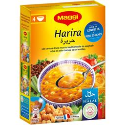Maggi Maggi Soupe Harira halal la boite de 135 g