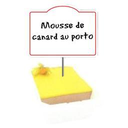Mousse de CANARD au Porto, qualité SUPERIEURE