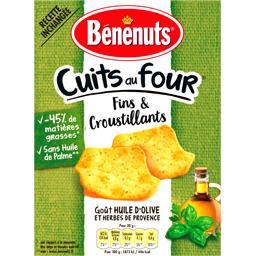Bénénuts Bénénuts Apéro Cracks - Biscuits apéritif goût huile d'olive la boite de 90 g