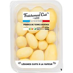 Lunor Fraîchement cuit by lunor Pommes de terre entières sans peau La barquette de 370g