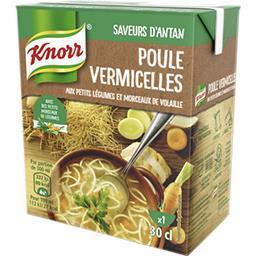 Knorr Knorr Secrets de Grand-Mère - Soupe poule vermicelles la brique de 30 cl