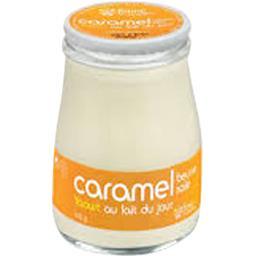 Sélectionné par votre magasin Yaourt au lait du jour caramel le pot de 180 g