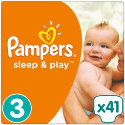 Couches Sleep & Play, taille 3 : 5-9 kg