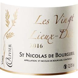 Saint Nicolas de Bourgueil vin Rouge 2016