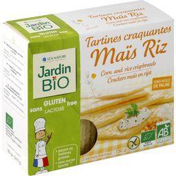 Tartines craquantes maïs riz BIO