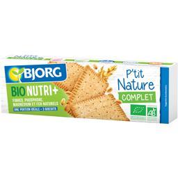 Bjorg Bjorg Biscuits P'tit Nature complet BIO le paquet de 200 g
