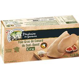 Foie gras cru de canard du Sud-Ouest, la boite de 550 g,ITINÉRAIRE DES SAVEURS,la boite de 550 g
