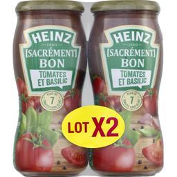 Sauce Sacrément Bon tomate et basilic