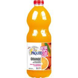 Paquito Boisson orange à l'eau de source Détox la bouteille de 2 l