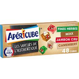 Apéricube Apéricube Fromage fondu Les Saveurs de l'Authentique la boite de 48 cubes - 250 g