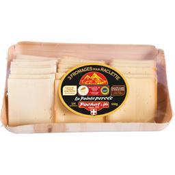 Plateau 3 fromages de savoie pour raclette
