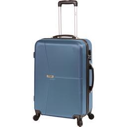 Valise rigide bleue 51 cm