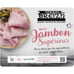 Le Bon Jambon breton sans couenne