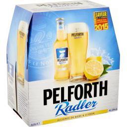 Bière Radler au jus de citron
