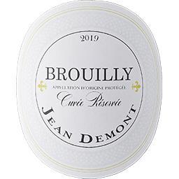 Brouilly Cuvée Réservée - Jean Demont vin Rouge 2017