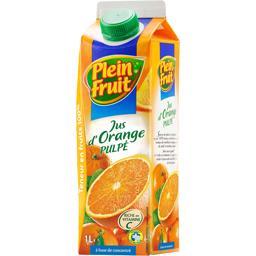 Jus d'orange pulpé